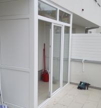 Zatvaranje terasa PVC stolarijom