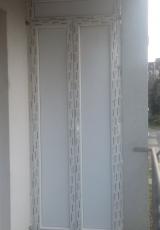 PVC vrata -ostava na terasi