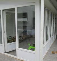 Zatvaranje terase PVC stolarijom