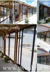 zatvaranje terase-alu klizni sistem