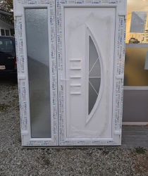 Pvc dvokrilna ulazna vrata