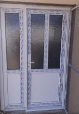 Pvc ulazna dvokrilna vrata